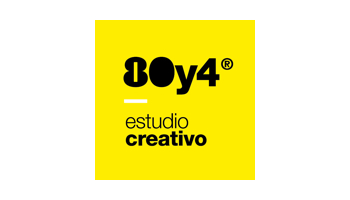 Logotipo Estudio Creativo Partner Ochentay4